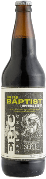 Epic Brewing Company - Big Bad Baptist (Release #124)