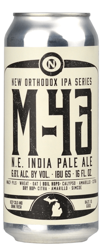 Old Nation - M-43 N.E. India Pale Ale (2019)