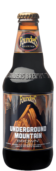 Founders Brewing Co. - Underground Mountain Brown