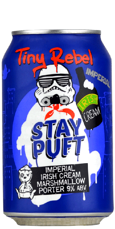Tiny Rebel Brewing Co - Imperial Stay Puft Irish Cream
