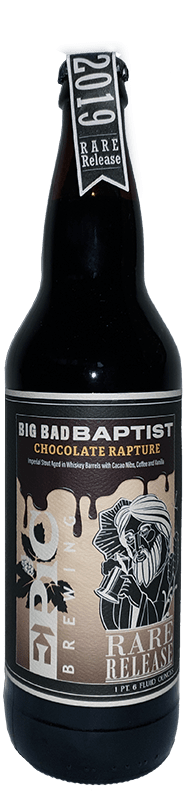 Epic Brewing Company - Big Bad Baptist Chocolate Rapture Rare Release (2019)