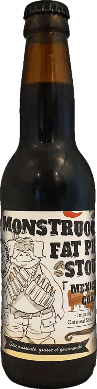 The Piggy Brewing Company - Monstruous Fat Pig Stout Mexican Cake Edition