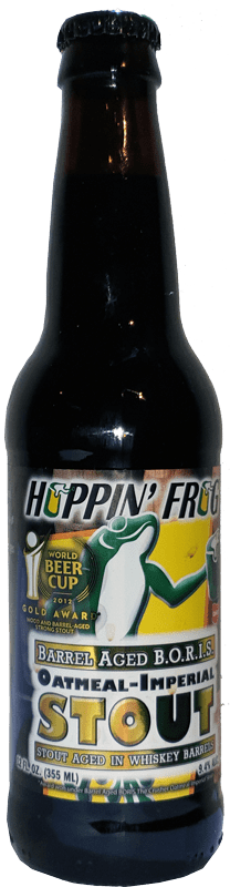 Hoppin' Frog - Barrel Aged B.O.R.I.S. The Crusher Oatmeal Imperial Stout