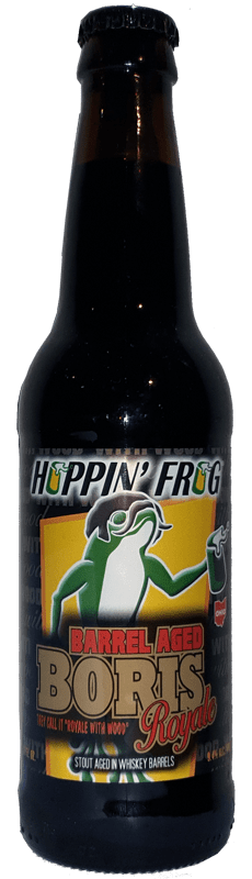 Hoppin' Frog - Barrel Aged Boris Royale