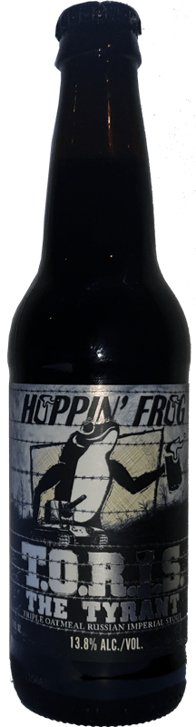 Hoppin' Frog - T.O.R.I.S. The Tyrant Triple Oatmeal Imperial Stout
