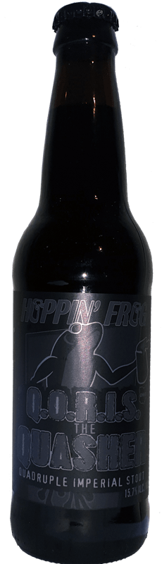 Hoppin' Frog - Q.O.R.I.S. the Quasher Quadruple Imperial Stout