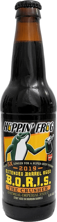 Hoppin' Frog - Extended Barrel-Aged B.O.R.I.S. Oatmeal Imperial Stout