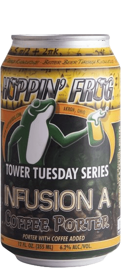 Hoppin' Frog - Tower Tuesday Series - Infusion A: Peanut Butter Chocolate Coffee Porter