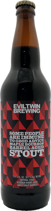 Evil Twin - Some People Are Immune To Good Advice Maple Bourbon Barrel Aged Imperial Maple Stout