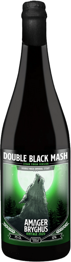 Amager Bryghus - Double Black Mash (2020) Cedar Version