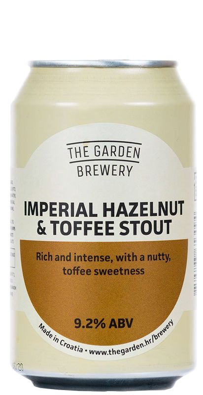 The Garden Brewery - Imperial Hazelnut & Toffee Stout