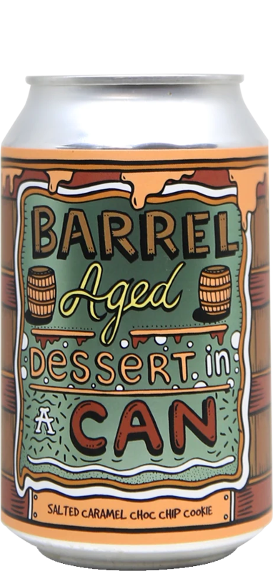 Amundsen Bryggeri - Barrel Aged Dessert In A Can - Salted Caramel Choc Chip Cookie