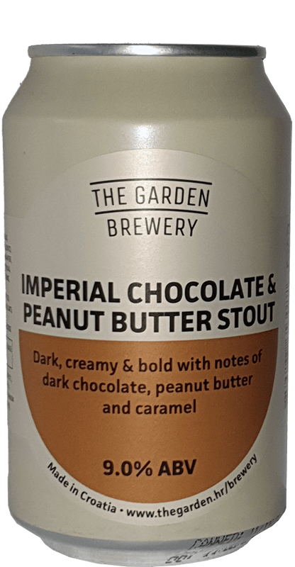 The Garden Brewery - Imperial Chocolate & Peanut Butter Stout