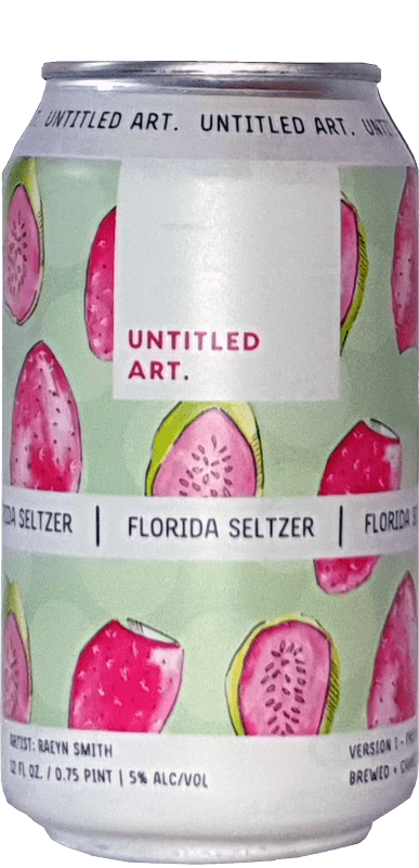 Untitled Art - Florida Seltzer Version 1 - Prickly Pear And Guava