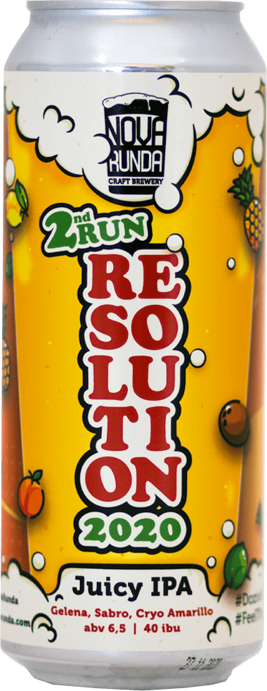 Nova Runda - Resolution 2020 - 2nd Run Juicy IPA