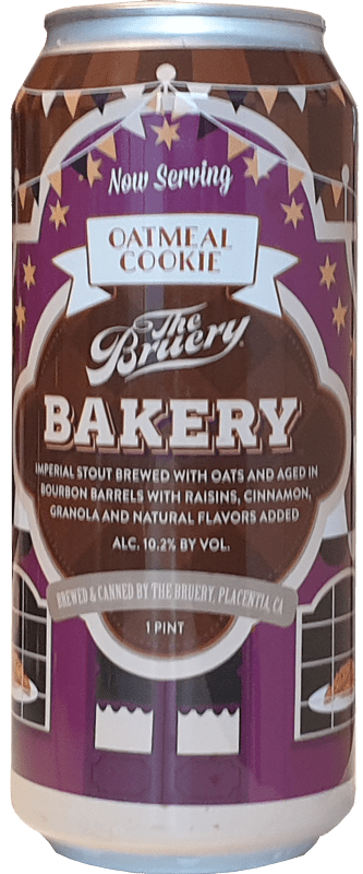 The Bruery - Bakery: Oatmeal Cookie