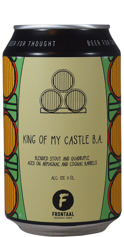 Frontaal - King of My Castle B.A.