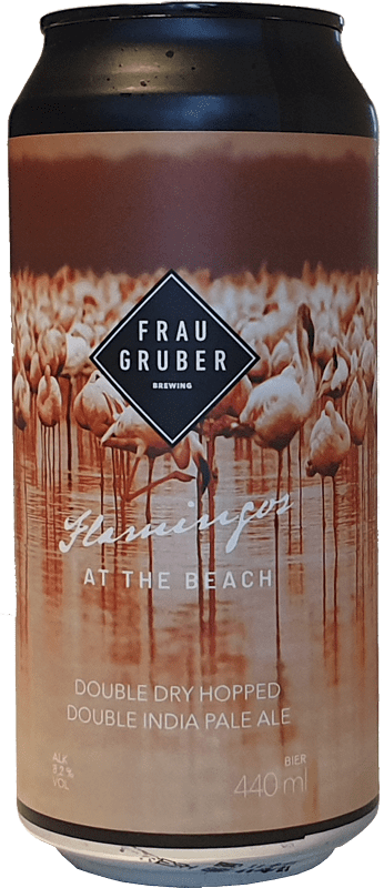 FrauGruber Brewing - Flamingos At The Beach
