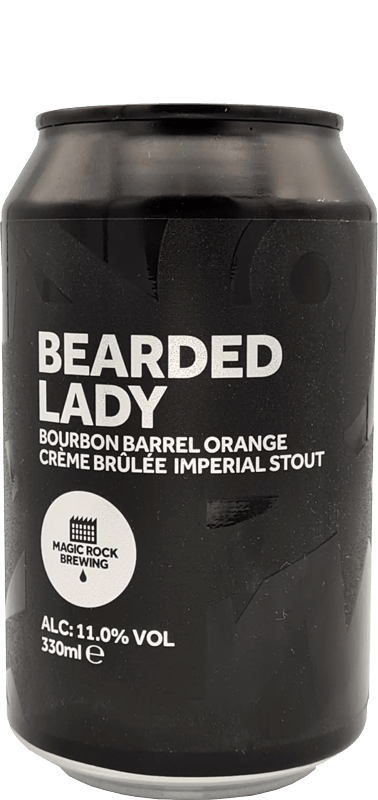 Magic Rock - Bearded Lady Bourbon Barrel Orange Crème Brûlée